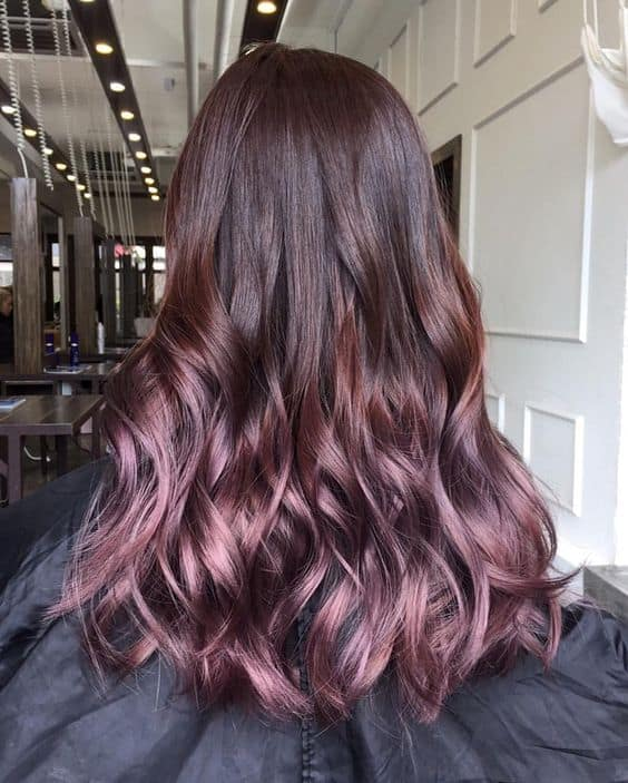 style n scissors salon and spa hairstyling hair colour rose gold hair rose gold hair colour jaipur best salon and spa in jaipur best makeup jaipur best beauty parlour jaipur balayage hair jaipur ombre hair get highlights in jaipur